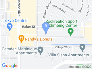Map of Every Dawgs Dream Dog Boarding options in Costa Mesa | Boarding
