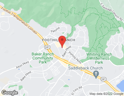 Map of 26712 Portola Parkway in Foothill Ranch