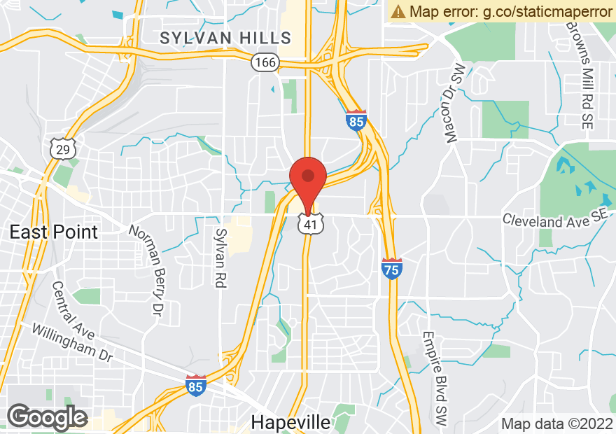Google Map of 2711 METROPOLITAN PKWY SW