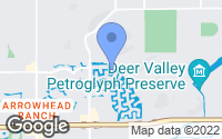 Map of Glendale, AZ