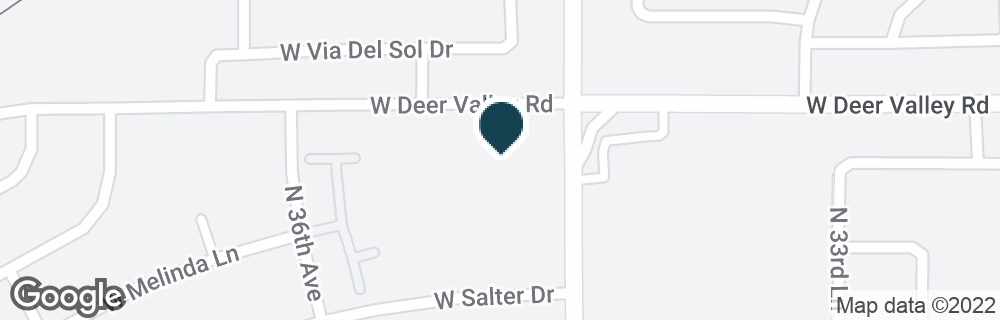 Google Map of21632 N 35TH AVE