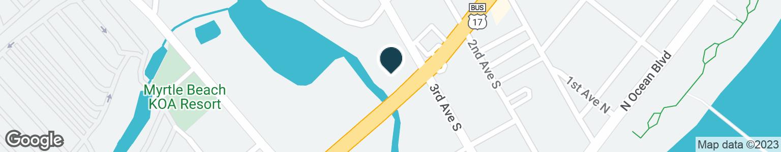 Google Map of300 S KINGS HWY
