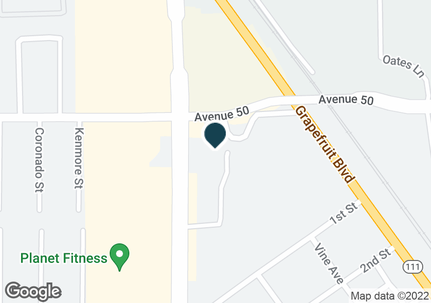 Google Map of50040 HARRISON ST