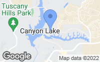 Map of Canyon Lake, CA