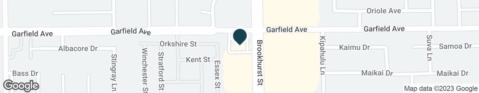Google Map of19001 BROOKHURST ST