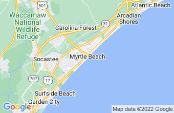 Map of Myrtle Beach