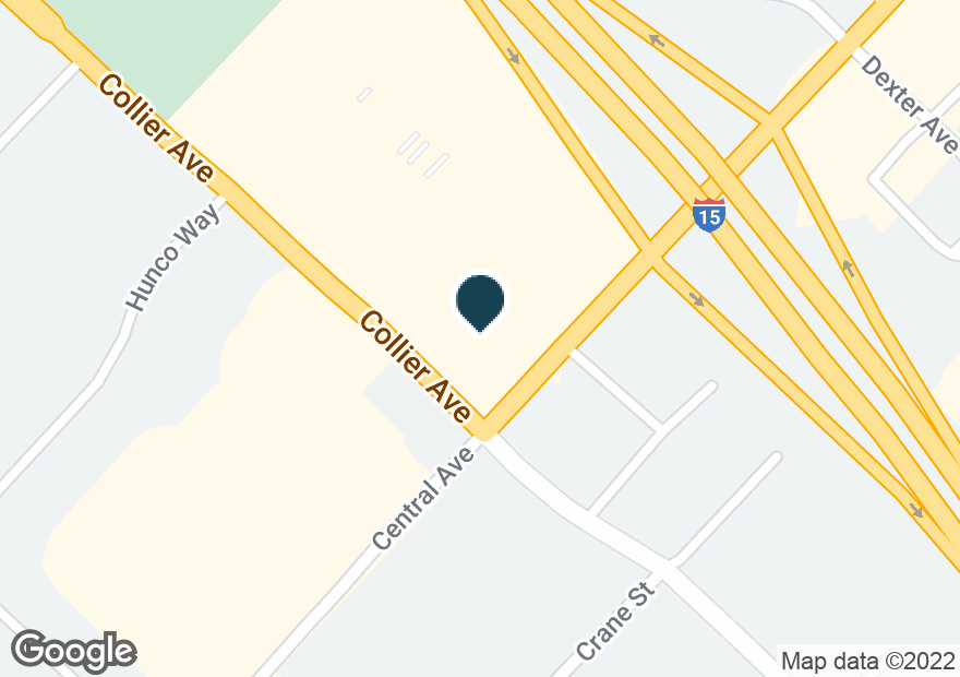 Google Map of18296 COLLIER AVE