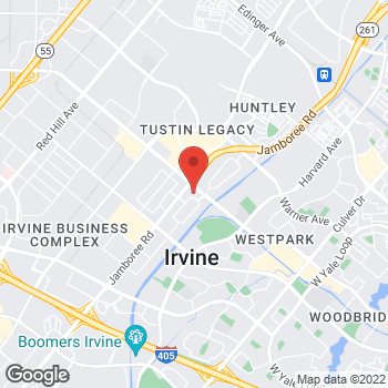 Map of Arby's at 76 Corporate Park, Irvine, CA 92606