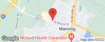 Map of 421 W Boyce St in Manning