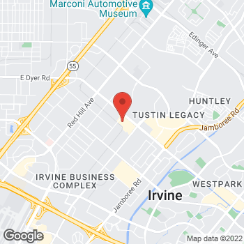 Map of Staples at 2160 Barranca Parkway, Irvine, CA 92606