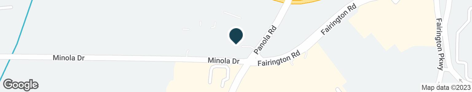 Google Map of2945 PANOLA RD