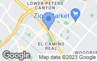 Map of Irvine, CA