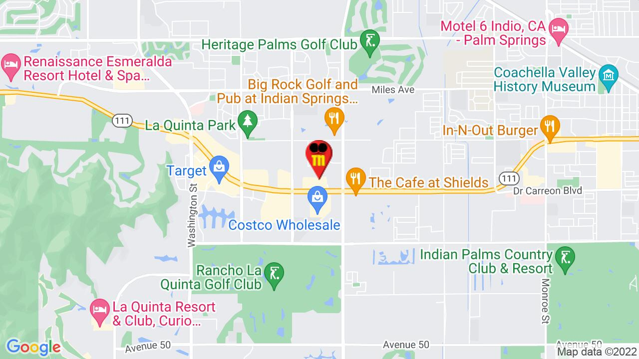 Google Map of La Quinta Pest Control