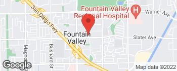 Map of 10221 Slater Ave in Fountain Valley