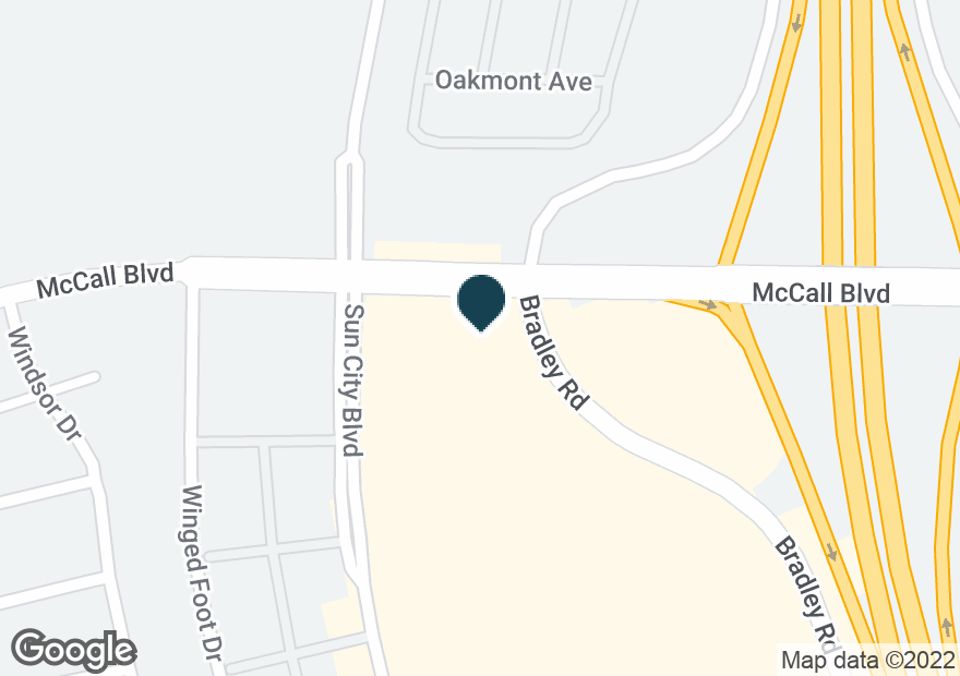 Google Map of27975 BRADLEY RD