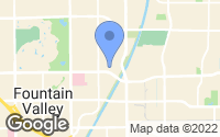 Map of Fountain Valley, CA