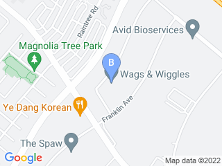 Map of Wags & Wiggles Dog Boarding options in Tustin | Boarding