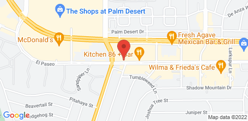 Directions to California Pizza Kitchen at The Shops on El Paseo