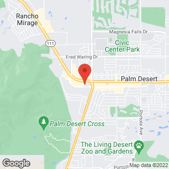 Map of Staples at 72-811 Highway 111, Palm Desert, CA 92260