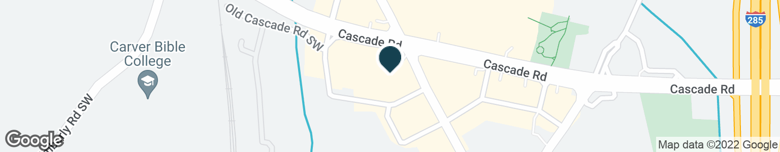 Google Map of3740 CASCADE RD SW