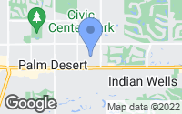 Map of Indian Wells, CA