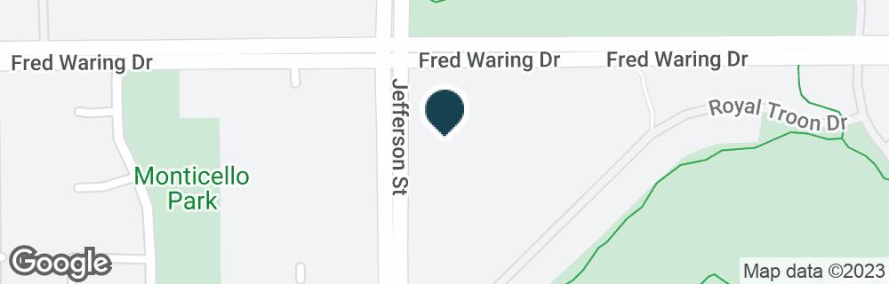 Google Map of44100 JEFFERSON ST