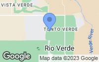 Map of Rio Verde, AZ
