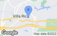 Map of Villa Rica, GA