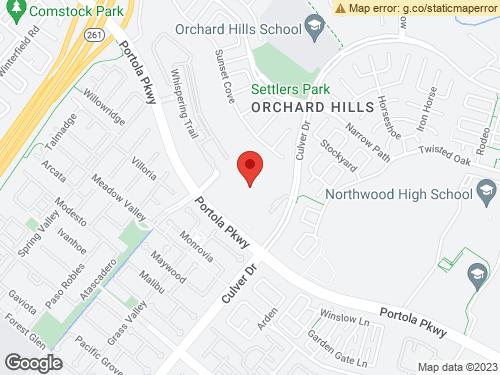 View Map of the design studio in Orange County, CA