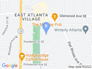 Map of Atlanta Dog Paddle Dog Boarding options in Atlanta | Boarding