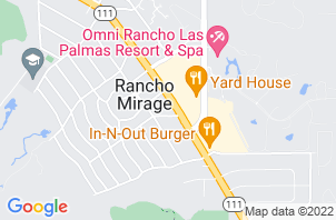 STORE CLOSED Rancho Mirage Mattress Store Location Map