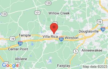 Map of Villa Rica