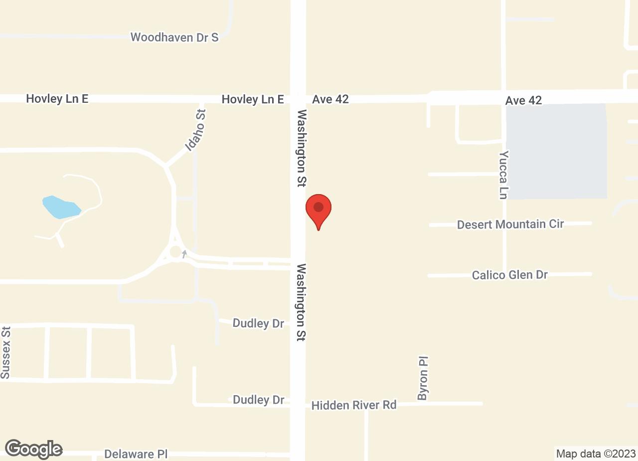 Google Map of VCA Desert Dunes Animal Hospital