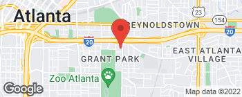 Map of 465 Boulevard SE in Atlanta
