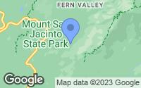 Map of Idyllwild-Pine Cove, CA