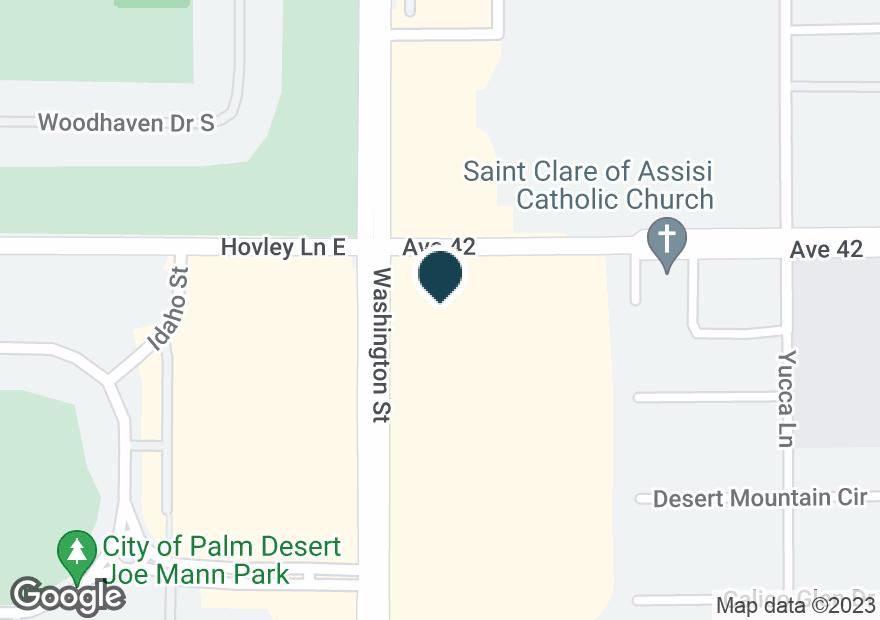 Google Map of42010 WASHINGTON ST