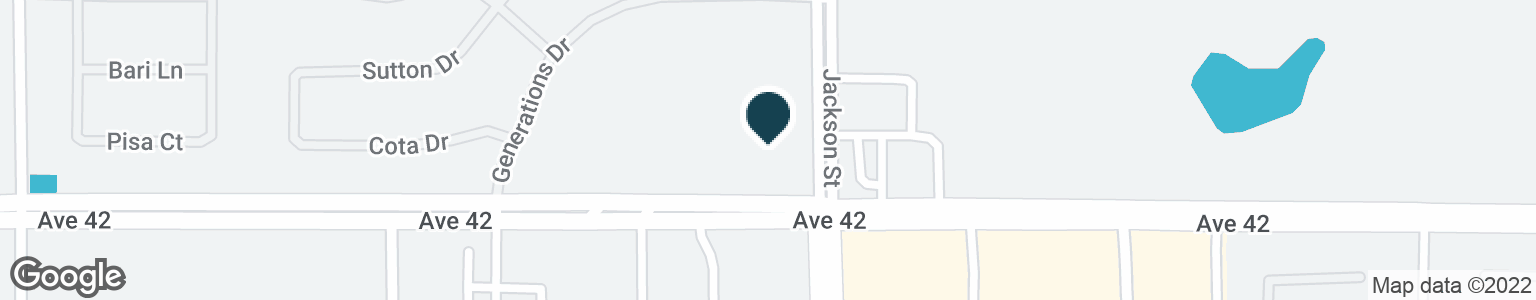 Google Map of82900 AVENUE 42