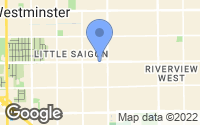 Map of Westminster, CA