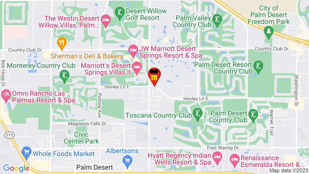 Google Map of Palm Desert Pest Control