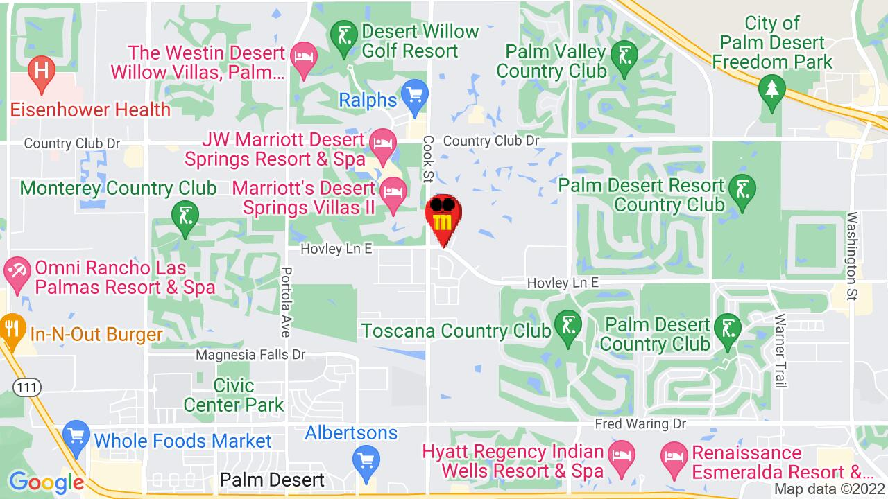 Google Map of Palm Desert Pest Control