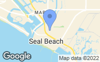 Map of Seal Beach, CA