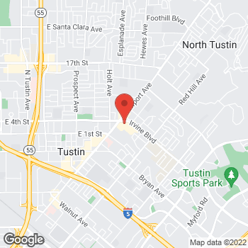 Map of Check `n Go at 1090 Irvine Boulevard, Tustin, CA 92780