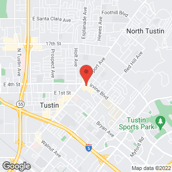 Map of Check `n Go Irvine Boulevard at 1090 Irvine Boulevard, Tustin, CA 92780