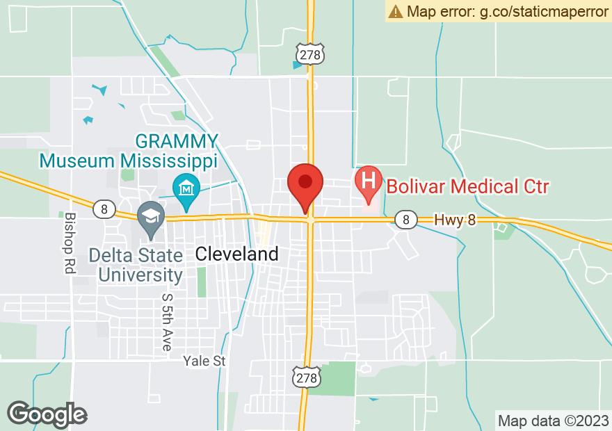 Google Map of 301 N DAVIS AVE