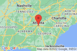 Map of Atlanta Metro Area