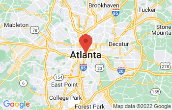 Map of Atlanta