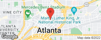 Map of 50 Hurt Plaza Se in Atlanta