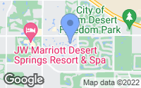 Map of Palm Desert, CA