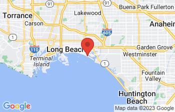 Map of Long Beach