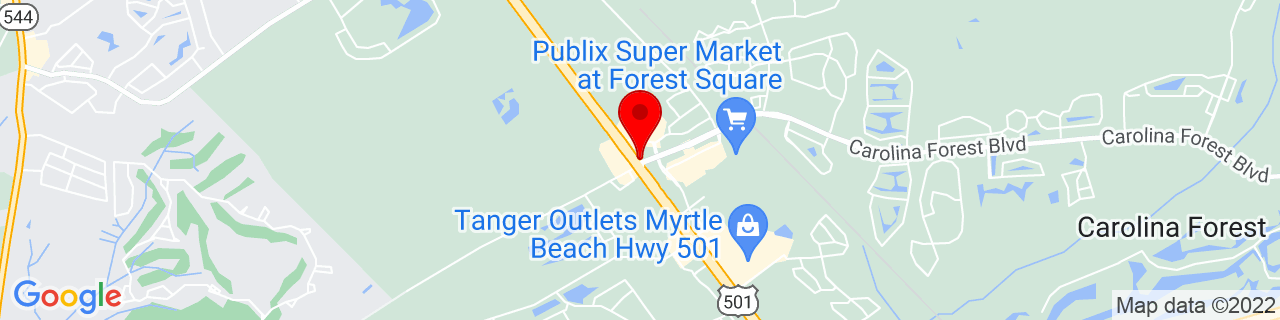 Google Map of 33.7580046, -78.9669513